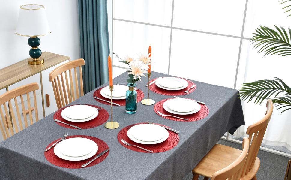farmhouse placemats set of 6