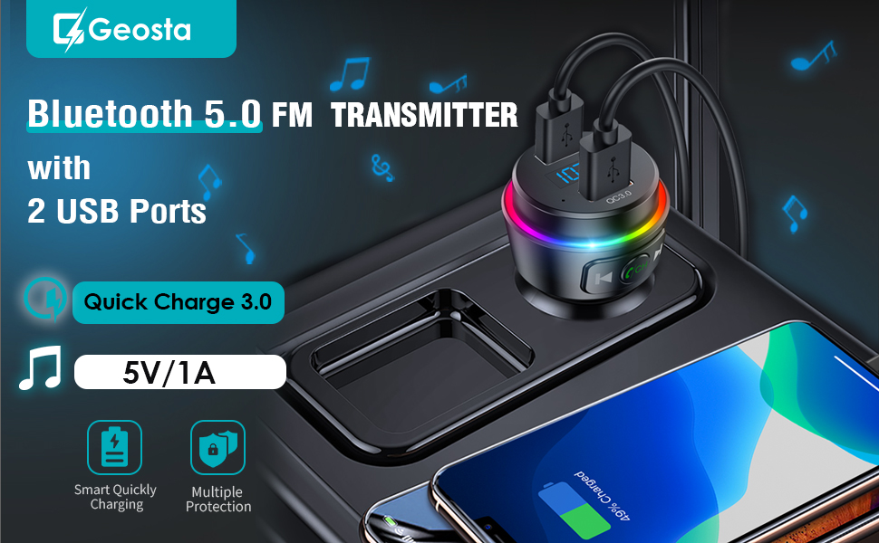 2020 Upgraded FM Transmitter