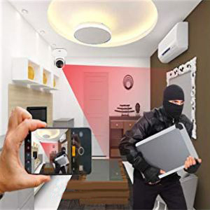 Bigpassport MS6020 WIfi Home Security Camera Motion Detection Alerts