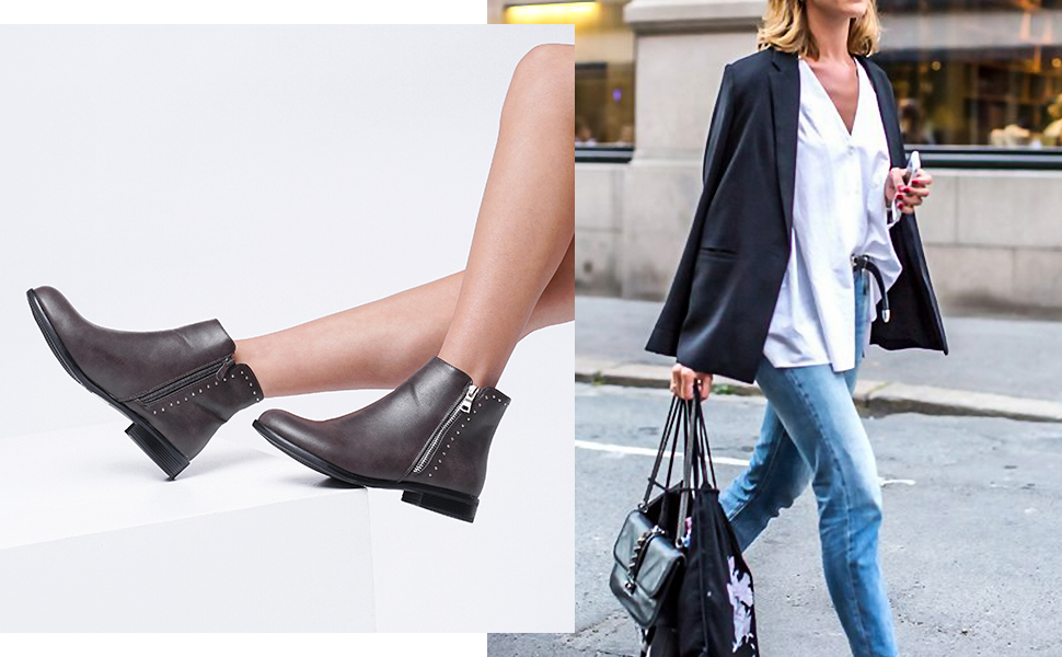 womens ankle booties