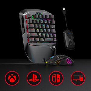 gamesir keyboard and mouse