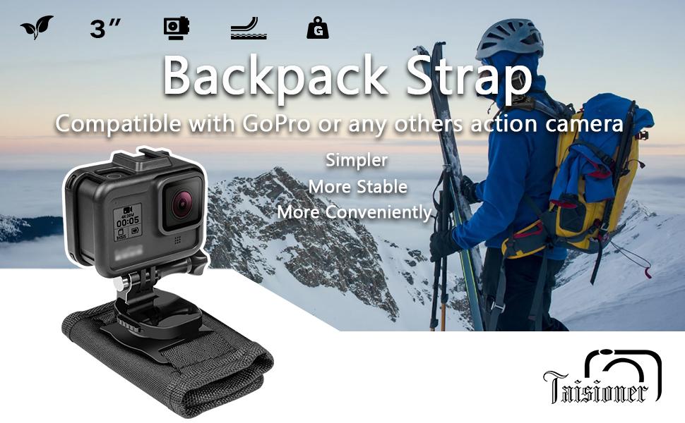 gopro backpack strap
