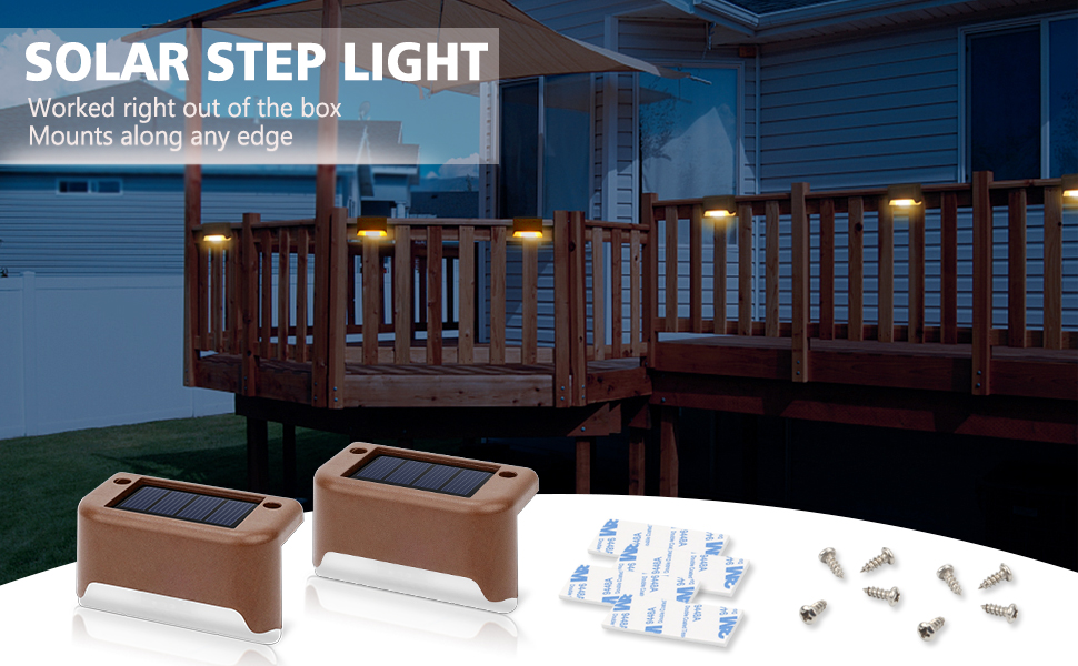 solar step light