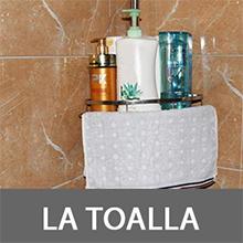 Estanterias de baño 110-310cm Estante de esquina telescópico para ...