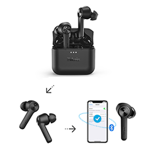 ONE-STEP Pairing Wireless Earbuds