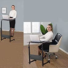Adjustable Height & Easy Move