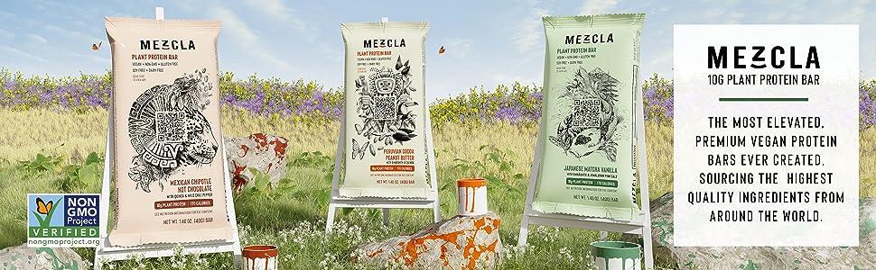 MEZCLA: 10G PLANT PROTEIN BAR
