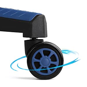 Nylon Mute-Rolling Caster