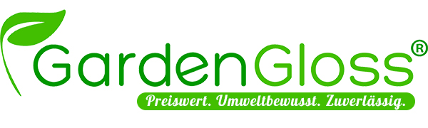 GardenGloss logo.