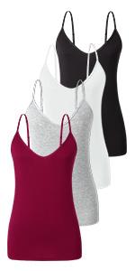 women's camisoles - 4 pack