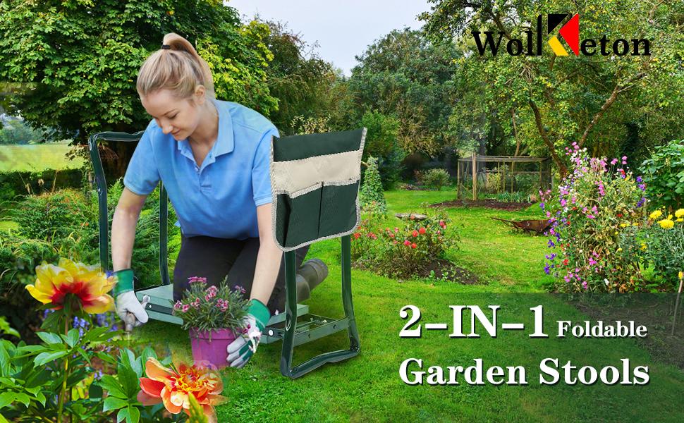 Garten Arbeitshocker