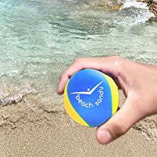 Beach Sandy Water Bouncer Skip Ball St Barths