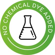 No Chemical dye added