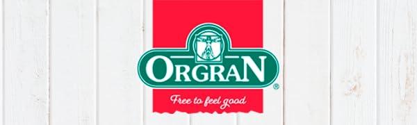 Orgran Logo - Free to feel good