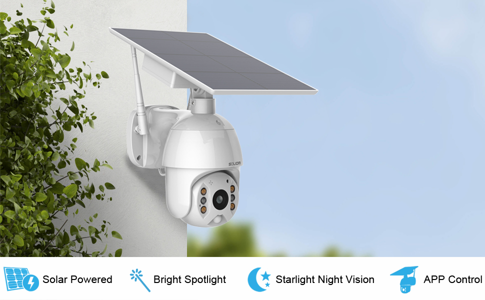 soliom solar camera