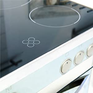 cooktops and food contact surfaces