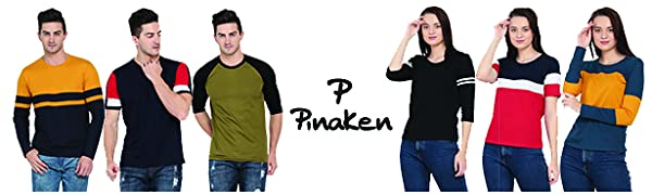 pinaken women and men cotton tshirt banner