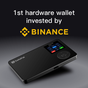 first hardware wallet invested by Binance