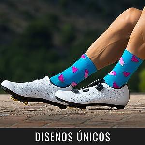 NORTEI calcetin ciclismo diseño
