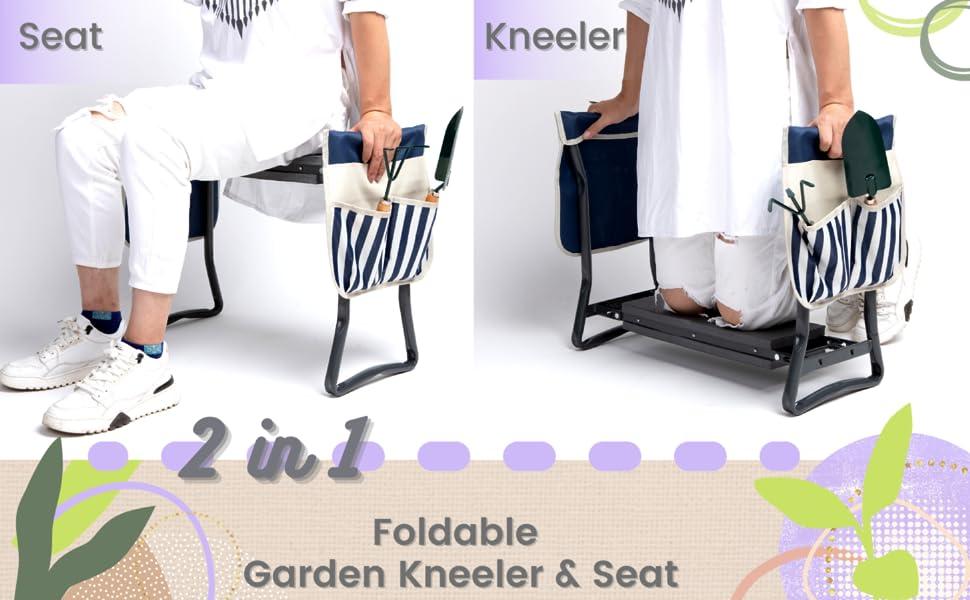 gardening gifts kneeler gardening tool set garden accessories gardening stool  gifts for seniors