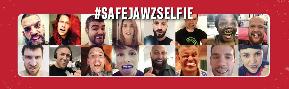 safejawz selfie customer photos mouth guard smile teeth athletes gum guard gum shield gumguard sport