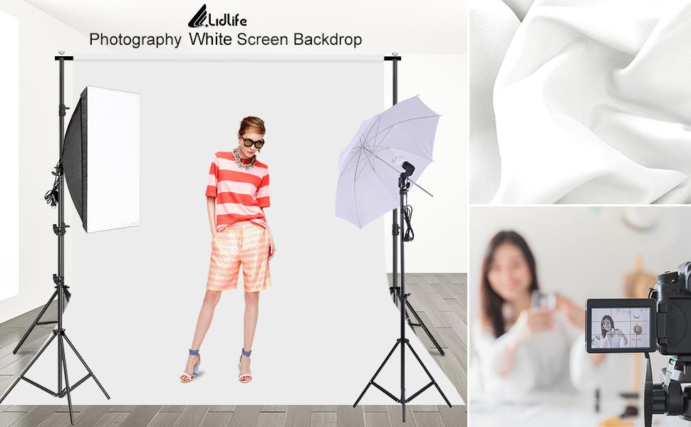 Photography White Screen Backdrop
