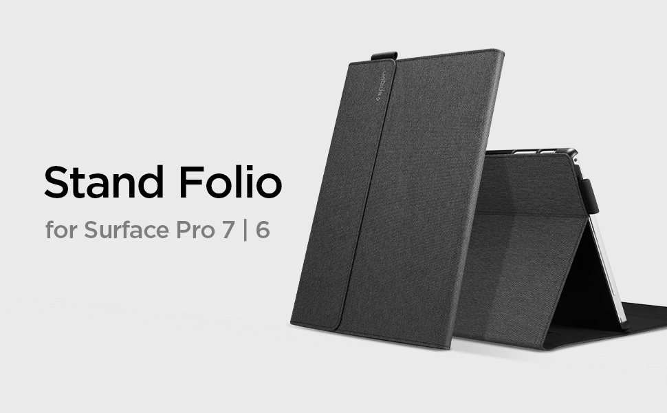 Spigen Stand Folio for Microsoft Surface Pro 7 / Surface Pro 6