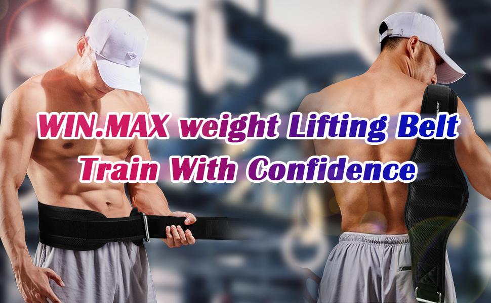 weight lifting belt for men