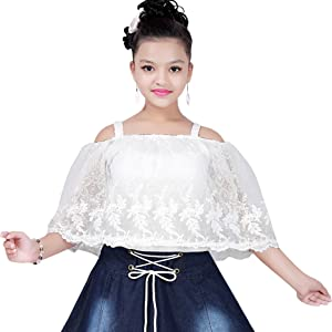 Denim white skirt top midi baby frock denim jeans