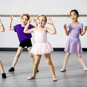 Little Girl Dance Ballerina Unitard Outfits