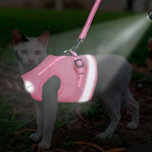 pink cat harnesses