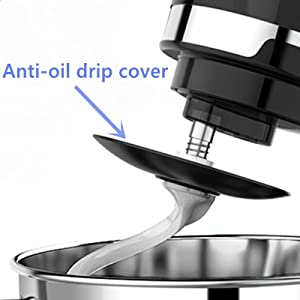 With unique anti-oil drip cover