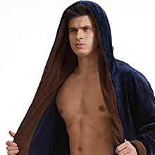 Warm Hooded Robes