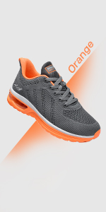 air sneakers for women orange