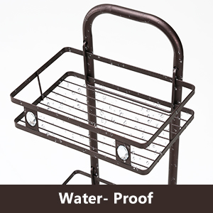 Constant Tension Corner Shower Caddy, Stainless Steel Pole, 5-Shelf, Rustproof, Strong and Sturdy,