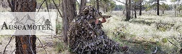 Auscamotek leaf suit