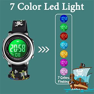 7 Color Led Light