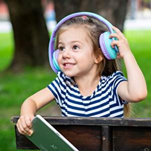 kopfhörer für kinder, kopfhörer für kinder 85db lautstärke begrenzt, kopfhörer für kinder für pc, tv