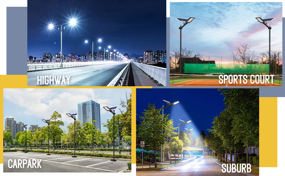 solar street lamp outdoor use