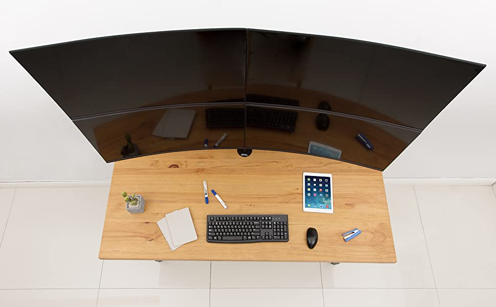 Easily transform your monitors from static to dynamic and add neatness and urban style in your