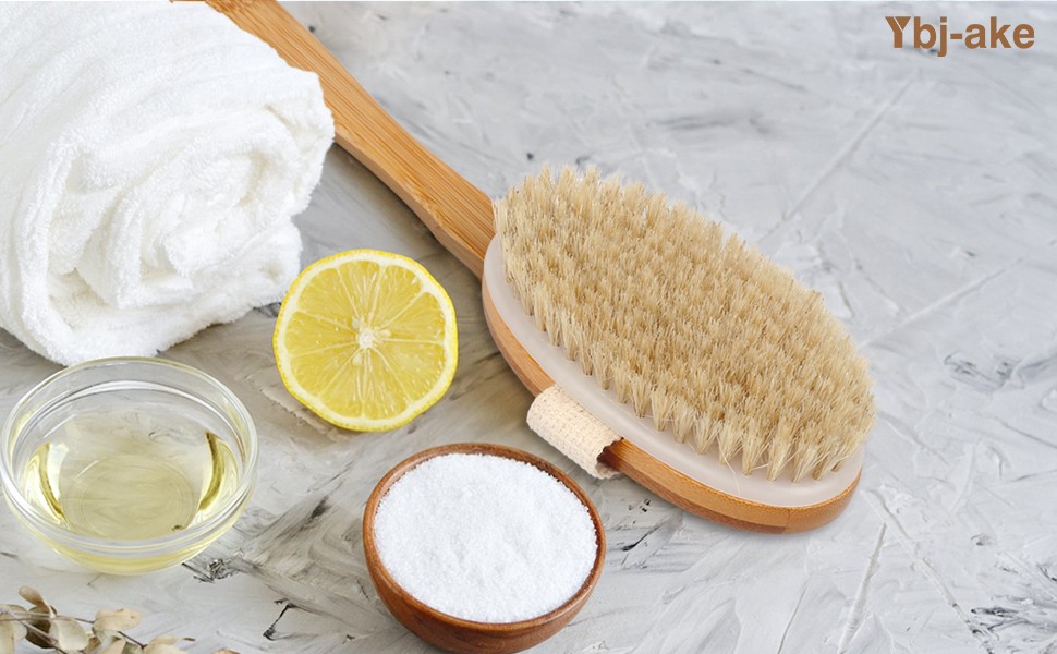 shower brush with long handle