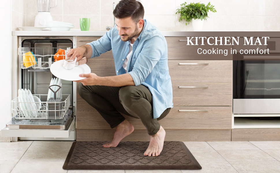 kitchen floor mats cushioned anti fatigue