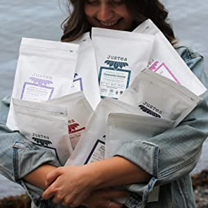 no zero waste packaging sustainable ethical loose leaf tea