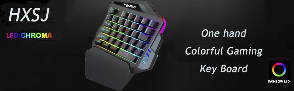 HXSJ  Gaming Key Board