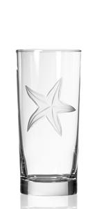 Starfish Highball Glass