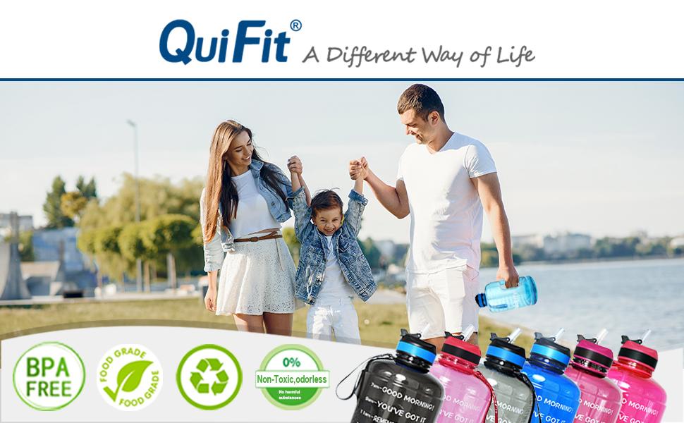 quifit waterfles