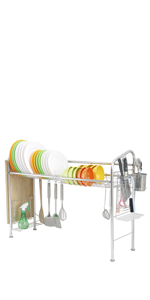 kitchen dish rack sink dish drying rack counter in sink stainless steel dish drying rack