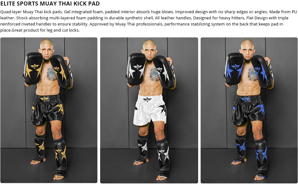 KD Elite Muay Thai Kick Shield