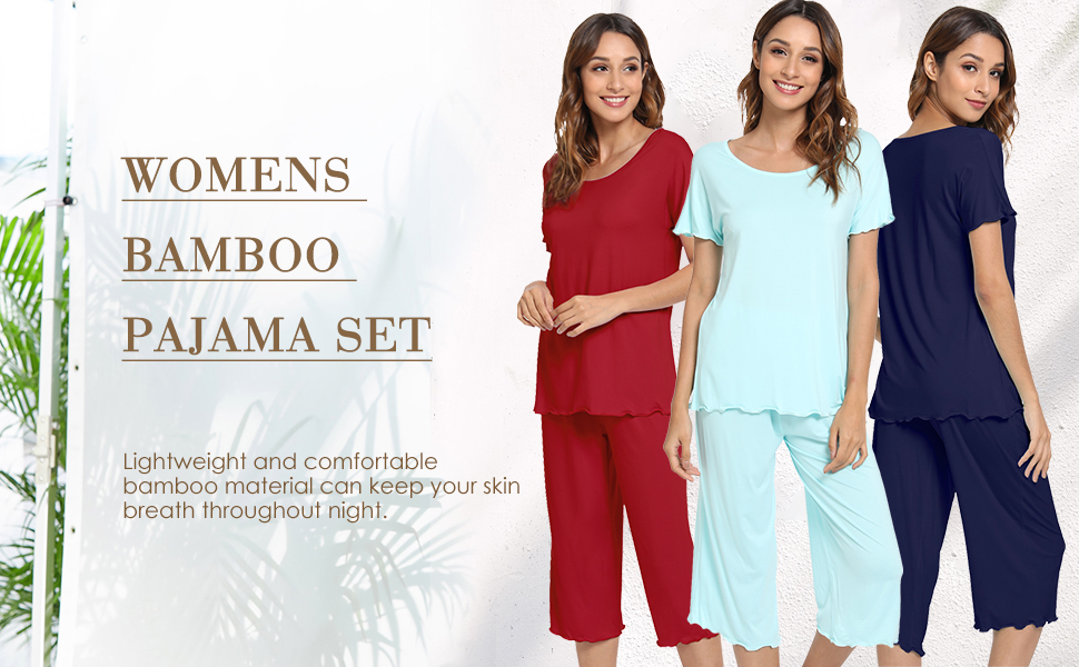 Flattering stretch-knit bamboo fabric designed for every ladies