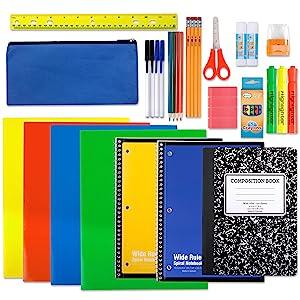 school supplies kit for teachers for classroom school supply bundle middle school set kids classpack